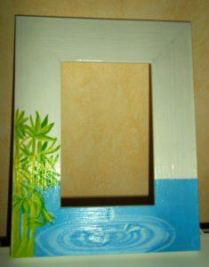 photo-cadre / décor-eau