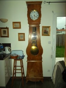 rénovation horloge ancienne