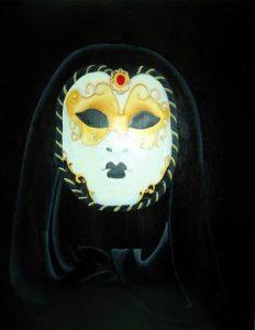 mask/ decorer masque loup