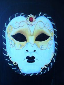 mask/masque décoré