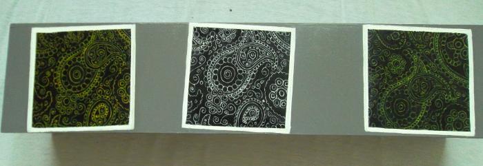 boîte de rangement/ dessins en motifs décoratifs