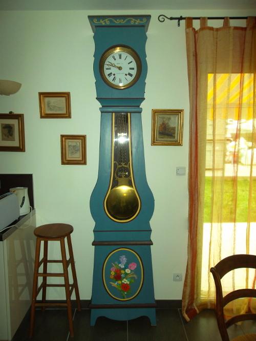 Horloge-peinte / comtoise