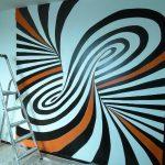 peintures murales/ trompe l'oeil