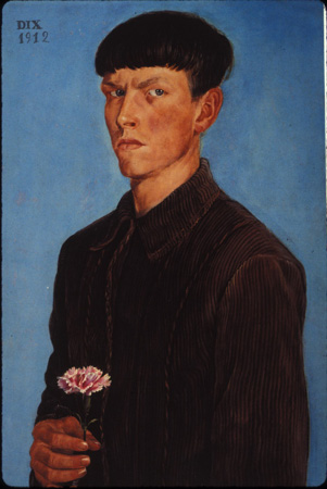 otto-dix-autoportrait
